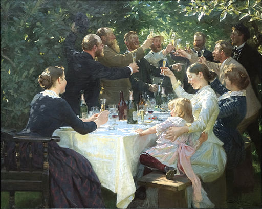 Peder Severin Krøyer [Public domain or CC BY-SA 3.0, via Wikimedia Commons]